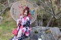 Картинка стиль, наряд, umbrella, зонт, girl, outfit, девушка, Asian girl, style, азиатка