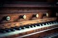 Картинка church organ, макро, клавиши, церковный орган
