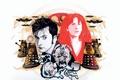 Картинка пришельцы, молния, Davros, Даврос, электрический разряд, Десятый Доктор, Tenth Doctor, тарелки, Daleks, Далеки, Doctor Who, ...