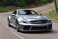Картинка Mercedes-Benz, AMG, speed, SL 65, Black Series, car, мерседес, авто, road