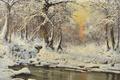 Картинка Венгрия, лед, Laszlo Neogrady, пейзаж, зима