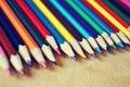 Картинка карандаши, радуга, цветные, настроения, обои