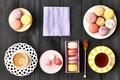 Картинка dessert, десерт, печенье, almond, macaron, макарун, sweet, colorful, cookies