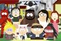 Картинка кошка, персонажи, Final Fantasy, косплей, пародия, Южный Парк, South Park, cosplay