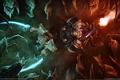 Картинка огонь, магия, битва, starcraft 2