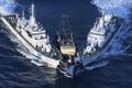 Картинка море, корабли, Абордаж, задержание, Япония, нарушитель