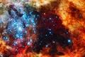 Картинка бесконечность, nebula, звезды, туманность