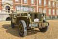 """Картинка мировой, Второй, времён, Jeep, автомобиль, проходимости, повышенной, армейский, передок, """"Виллис-МВ"""", войны, Willys MB"""
