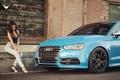 Картинка Vorsteiner, Audi and Girl, Car and Girl, Audi S3, Vorsteiner Audi S3, Audi Cars, Girl, ...