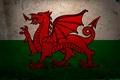 Картинка дракон, флаг, Уэльс, герб