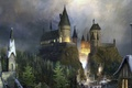 Картинка hogwarts, хогвартс, фантастика, fantasy, Harry Potter, гарри поттер, замок