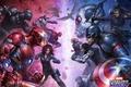 Картинка Iron Man, Фильм, Ant-Man, Captain America: Civil War, Первый мститель: Противостояние, JeeHyung lee, Captain America, ...