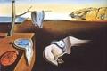 Картинка время, сюрреализм, часы, масло, картина, художник, холст, Сальвадор Дали, Salvador Dali, Постоянство памяти, знаменитая, 1931 ...