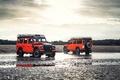 Картинка Land Rover, две, Defender, Adventure