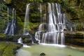 Картинка водопад, камни, каскад