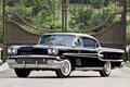 Картинка фон, купе, ворота, классика, Coupe, Pontiac, Понтиак, передок, Sport, Custom, 1958, сёрный, Бонневиль, Bonneville
