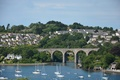 Картинка England, United Kingdom, Великобритания, Bridge, Saltash, Coombe Viadukt, Англия, Солтэш, Мост