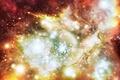 Картинка Хаббл телескоп, звезды, туманность