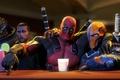 Картинка fan art, Deathstroke, Deadpool