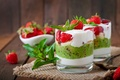 Картинка мороженое, strawberry, cream, киви, dessert, десерт, ягоды, berries, sweet, крем, клубника