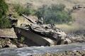 Картинка Израиля, Меркава, грязь, боевой, танк, Merkava-IIID, основной