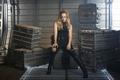 Картинка Yuusha, strong, long hair, uniform, blonde, pose, wallpaper, 4k, boxes, bat, Black Canary, Caity Lotz, ...