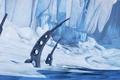 Картинка landscape, ice, snow, Borderlands 2