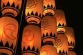 Картинка Япония, фонари, вечер