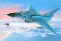 Картинка атака, истребитель, арт, F - 106A