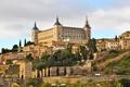 Картинка замок, Испания, Spain, Castles, Alcazar Toledo
