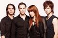 Картинка Halestorm, Lzzy Hale, Joe Hottinger, Arejay Hale, Josh Smith, американская рок-группа