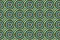 Картинка круги, орнамент, узор, зеленый