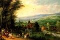 Картинка painting, картина, The sammer, Momper, живопись