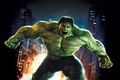 Картинка 2008, City, Light, Action, Fantasy, Edward Norton, Fire, Hulk, Flame, Darkness, Green, Body, The, Big, ...