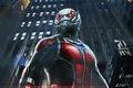 Картинка Ant-Man, фан-арт, комикс, супергерой, Человек-муравей, Paul Rudd, Пол Радд, marvel, фантастика, костюм