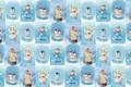 Картинка зима, фон, настроение, текстура, арт, детская