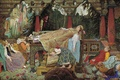 Картинка Васнецов, спящая царевна, картина