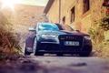 Картинка ауди, RS4, front, Audi, vossen wheels