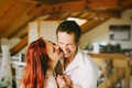 Картинка couple, laugh, love