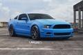 Картинка Mustang, Ford, Blue, Matte, Wheels, Grabber, VMB8, Velgen, Gunmetal
