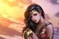 Картинка Чудо-женщина, Диана, Амазонка, Wonder Woman, Diana, DC Comics