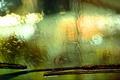 Картинка Стекло, дождь, машина, дворники, капли