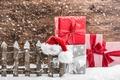 Картинка merry christmas, праздник, gifts, рождество, new year, happy new year, новый год, christmas gifts, christmas