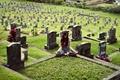 Картинка поза, йога, девушка, Kylie Woon, кладбище