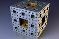 Картинка Мандельброт, фрактал, куб