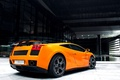 Картинка 2008, Lamborghini, yellow, Gallardo, supercar, GT 540, Bf performance