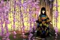 Картинка Сакура, кимоно, девочка