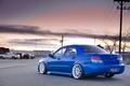Картинка Subaru, impreza, wrx, sti, синий, дорога, машины, завод
