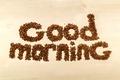 Картинка кофе, good morning, beans, coffee