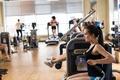 Картинка training, gym, people doing exercises